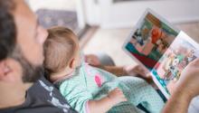 Ser padre a partir de los 45 años podría influir en la saludde tus hijos. Foto:Picsea