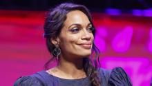 Rosario Dawson in Los Angeles. Photo: Rich Polk/Getty Images.