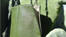 Desserto is the first leather made from nopal cactus, which abound in Mexico