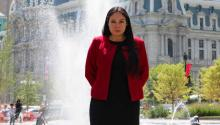 Diana Cortes is Chair of the Philadelphia Litigation Group, one of the top positions in the city's law department. Greta Anderson / AL DÍA News