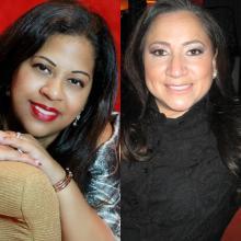 Jacqueline Capriles y Ana Diaz