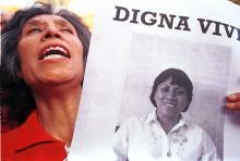 File image, protest to condemn the death of Digna Ochoa. Photo Christian Palma, Cuartoscuro.
