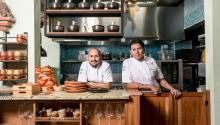 Jaime Rodríguez and Sebastián Pinzón, chefs for Celele Restaurant in Cartagena. Photo: Celele Restaurant