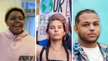 Asthon, Nalleli and Luis are some of the young Latinos who are making changes in the country. Photo: Collage photos Instagram