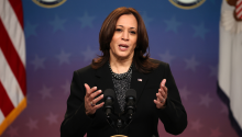 Kamala Harris, vice president of the United States. Photo: Getty Images