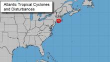 Storm 'Henri' on the northeast coast of the United States. Photo: National Hurricane Center