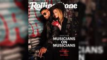 Maluma and Madonna are the cover of Rolling Stones magazine. Photo: Instagram
