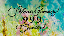 '999' is the title of Selena Gomez and Camilo's new song. Photo: Twitter @camilomusica
