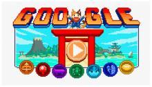 Google doodle Tokyo 2020. Google.com