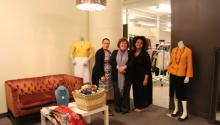 (L to R) Dress for Success staff: Gayle Gaskin, Program Director, Barbara J. Silzle, Executive Director, and Lauren Tankersly, Manager of Operations. AL DÍA News