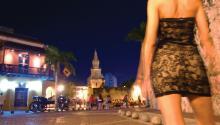 En Cartagena, una ciudad atormentada por la corrupción y desigualdad, el comercio sexual es un lado oscuro del turismo. Foto:
