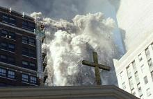 Exact moment of the Twin Towers explosion. Photo: Secret Service.