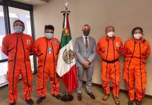 """Los Topos, Spanish for """"the moles,"""" have since been involved in virtually every major natural disaster in Mexico and others around the world. Photo: Twitter"""