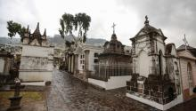 Photo provided on Oct. 31, 2017 showing a view of San Diego cemetery, in Quito, Ecuador on Oct. 26, 2017. EPA-EFE/Jose Jacome