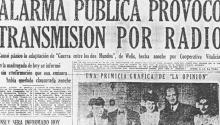 Cover of El Nacional with the news of the disturbances.
