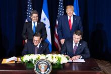 "5 keys to understand the ""safe third country"" agreement between the US and Latin America. By Michelle Myers / AL DIA News. Photo: Kevin McAleenan Twitter."