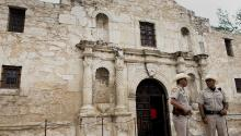 More than 200 people died during the Battle of El Alamo in 1836. Via: Bloomberg / Getty Images.
