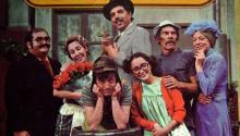 "Original cast of ""El Chavo del 8"". Archive image."