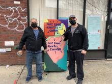 Solidaridad para las neveras comunitarias. Foto de @jessicaramos