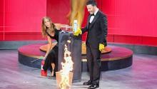 """Las curiosas medidas anti COVID de Kimmel y Jennifer Aniston durante los""""pandemmy""""."""
