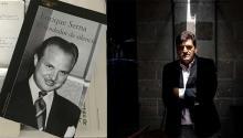 El escritor mexicano Enrique Serna. Vía: La Mañana de Reynosa.