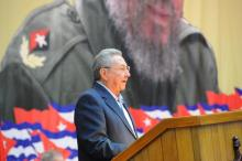Raúl Castro, First Secretary of the Communist Party of Cuba, and former President of Cuba. Photo: AL DÍA Archives.
