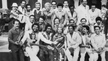 El histórico conjunto de Salsa, La Fania. Foto: Craft Recordings.