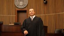 Luis Felipe Restrepo was sworn in as Judge of the U.S. Court of Appeals for the Third Circuit in 2016.