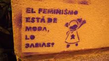 Grafiti en una calle de Madrid. Wikipedia