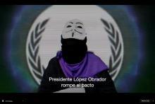 Feminonymous México invade las redes. Frame del video de youtube.