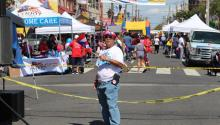 Feria del Barrio is one of the many Latinx events hoping to return in the Summer of 2021. Photo: Nigel Thompson/AL DÍA News.
