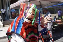 At the Philadelphia Neighborhood Fair. File image.