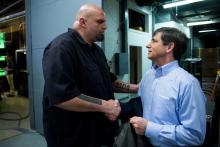 PA Lieutenant Governor John Fetterman built a national profile over the 2020 Election cycle. Photo: Bill Clark/Getty Images.