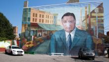 Mural de Frank Rizzo. Samantha Laub/AL DÍA News