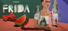 The immersive exhibition Frida Kahlo.