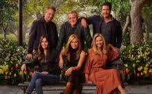 """The Cast of """"Friends"""" at The Reunion."""