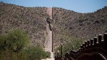 Zona desérticayfronteriza entre Estados Unidos y México. Foto: Lucy Nicholson/REUTERS.