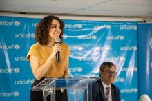 Gaby Moreno is a Unicef ambassador in Guatemala.