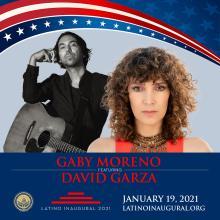 Gaby Moreno to Latino Inaugural 2021 music show.