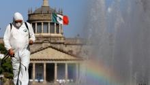 Ciudad de México durante la pandemia. Getty Images.