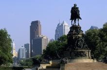 Benjamin Franklin Parkway, Philadelphia. Photo: Hisham Ibrahim/Getty Images.