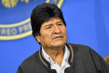 Bolivia's president Evo Morales applavies for asylum in Mexico by Michelle Myers