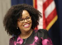 Boston mayor Kim Janey. Photo: David L. Ryan/Getty Images