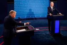 The first presidential debate proved to be a failure on multiple levels. Photo: Morry Gash-Pool/Getty Images