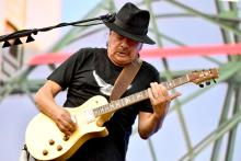 Carlos Santana performing at the recent We Love NYC concert. Photo: Jeff Kravitz/Getty Images for Live Nation