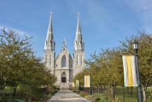 Church in Villanova University, Pennsylvania, USA. Photo: Getty Images.