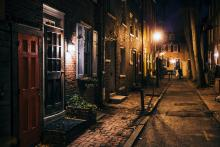 Old City Philadelphia may be one of the most scenic parts of the city, but its dated brick sidewalks make it difficult to traverse for wheelchairs. Photo: Getty Images.