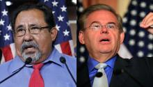 Raúl Grijalva, Democrat of Tucson, and Senator Bob Menendez, were some of the members of the Hispanic Caucus of Congress to demonstrate in open opposition against the nomination of Judge Brett Kavanaugh to the Supreme Court of Justice.