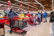 Grocery Outlet Bargain Market opened its store in East Norriton on Feb. 25. Photo courtesy of: Grocery Outlet Bargain Market.