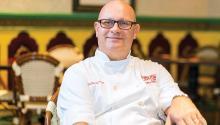 Guillermo Pernot, chef del restaurante y bar Cuba Libre.